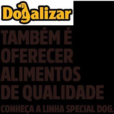 SpecialDog também é oferecer alimentos de qualidade